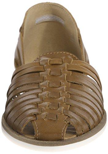 STEVE MADDEN HILLARIE - Sandalias para mujer Cognac Leather ...