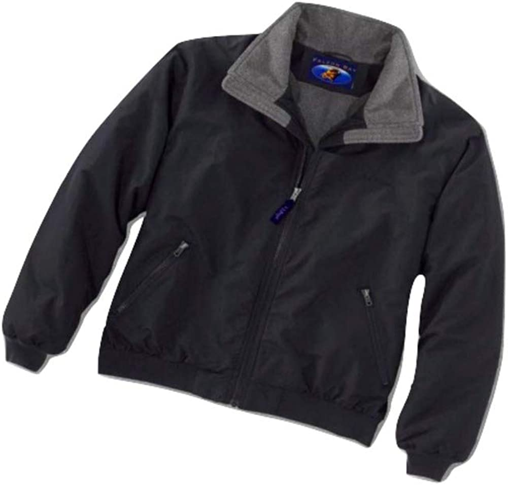 Big and Tall Black Polar Fleece Lined Jacket to 10X and 6X Tall 88-4550