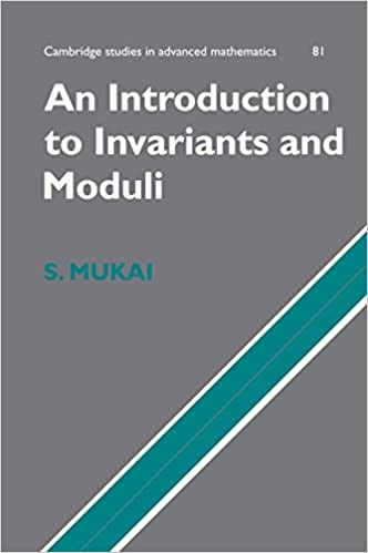 An Introduction to Invariants and Moduli (Cambridge Studies in