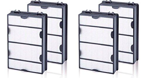 Nispira True HEPA Air Allergy Filter Replacement Compatible with Holmes HAPF600 HAPF600D HAPF600D-U2 Filter B, 4 Filters