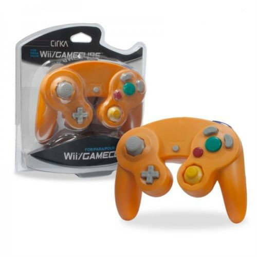 video-game-accessories-brand-new-controller-for-nintendo-gamecube-or-wii-orange-spice
