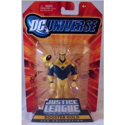 DC Universe Justice League Unlimited Fan Collection Action Figure Booster Gold by DC - Booster Dc League Justice