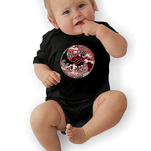 Infant Thor Pajamas - Odin Thor Viking Norse Tree of Life Baby Organic Pajamas Organic Bodysuits Black
