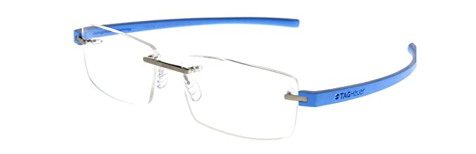 a2133110b3 Image Unavailable. Image not available for. Color  Tag Heuer TH3941 010  Reflex 3 Rimless Frames ...