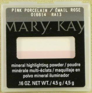 Mary Kay Mineral Highlighting Powder Pink Porcelain New full size