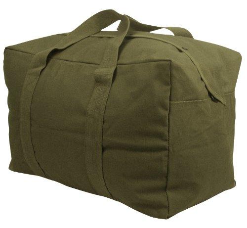 (Rothco Canvas Parachute Cargo Bag, Olive Drab)