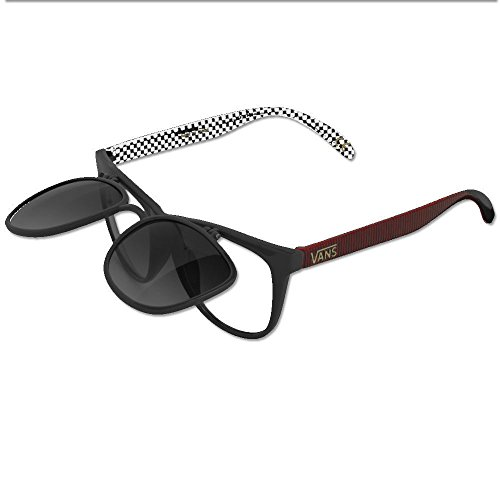 Flip Up Black Red White Sunglasses Aviator Clear Lens Glasses Geek Fashion Flip Up - Sunglasses Electric Retailers