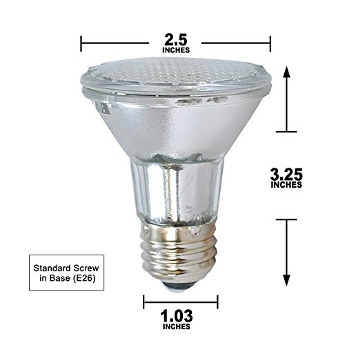 Broan PAR20 Halogen Lamp 50 watts for Allure RM60000 64000 and RMIP Series - 64000 Series