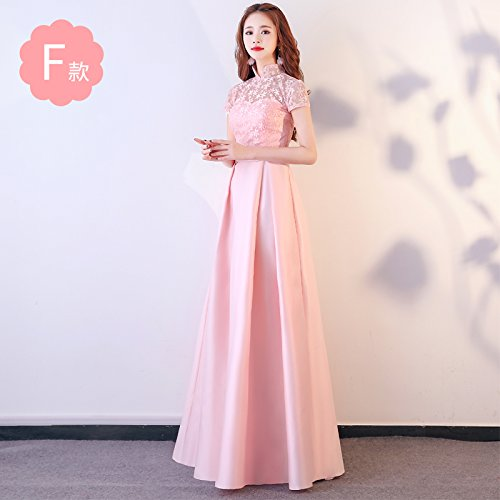 Dress Bridesmaid XIU Vestido RONG Vestido Pink Mujer Noche De Vestido De F Fiesta Bridesmaid Dress gwrIErYqxU