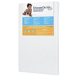 Dream On Me 3 Mini/Portable Crib Mattres...