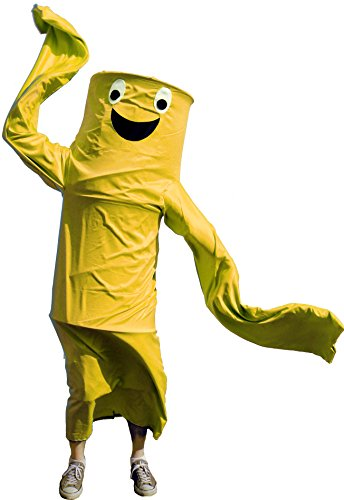 Wacky Waving Tube Man Costume (Wacky Waving Arm Flailing Tube Dancer Costume - Tango Snuggles - Yellow)