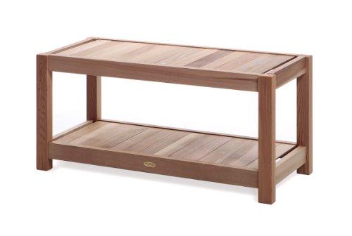 All Things Cedar SB39 Entryway/Sauna Bench