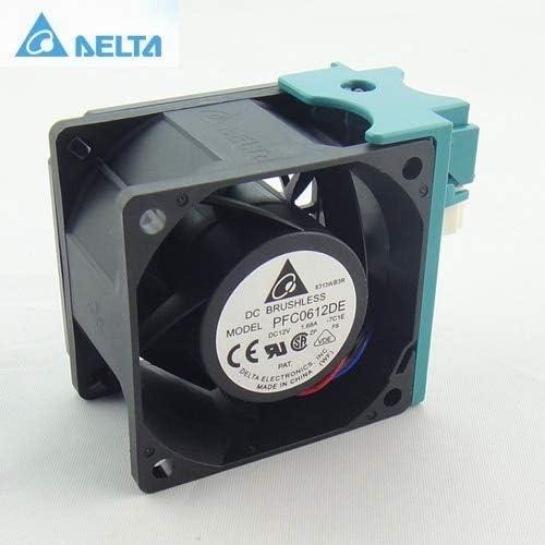 for delta pfc0612de 6038 6 6cm 606038mm 12V 1.68A server speed cooling fan