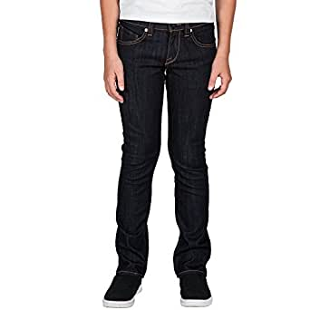 Volcom Big Boys 2x4 Jeans, Rinse, 22