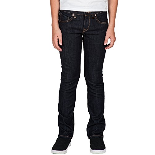 Volcom Low Rise Jeans - Volcom Big Boys 2x4 Jeans, Rinse, 25