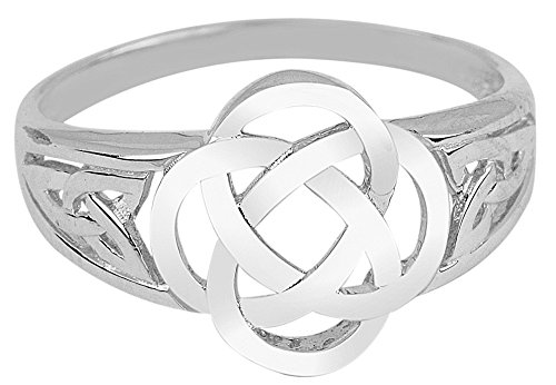 Silver Trinity Ring Ladies (7)