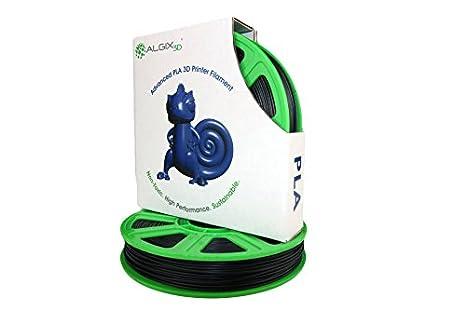 Algix - Filamento para impresora 3D, APLA, color negro supremo, 2 ...