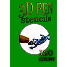 3D Pen Stencil Book: 120 Exercises to Doodle with in 3D!