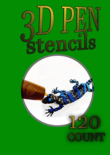 3D Pen Stencil Book: 120 Exercises to Doodle with in 3D! ()