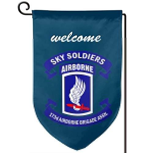 Garden Flag 12.5-18in Size Banner for House Decoration- 173rd Airborne Brigade Combat Team ()