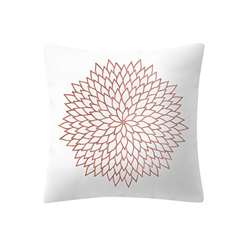 FORUU Throw Pillowcase, St. Patrick's Day Clover Ladies Sales 2019 Under 10 Valentine's Day Best Rose Gold Pink Cushion Square Pillowcase Home Decoratio – The Super Cheap