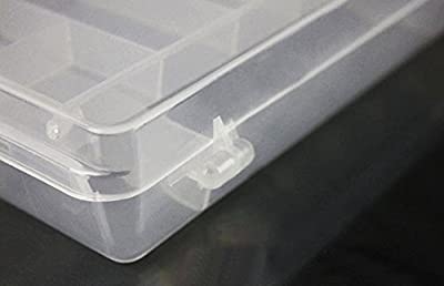 Waterproof Visible Plastic Clear Fishing Lure Bait Hooks FishingTackle Accessory Storage Box Case Container