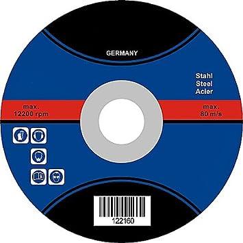 10Stück Trennscheiben Ø 115 1 22 Flexscheiben Inox Edelstahl Metall Stahl 1mm