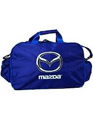 Mazda Logo Bag Unisex Leisure School Leisure Shoulder Backpack