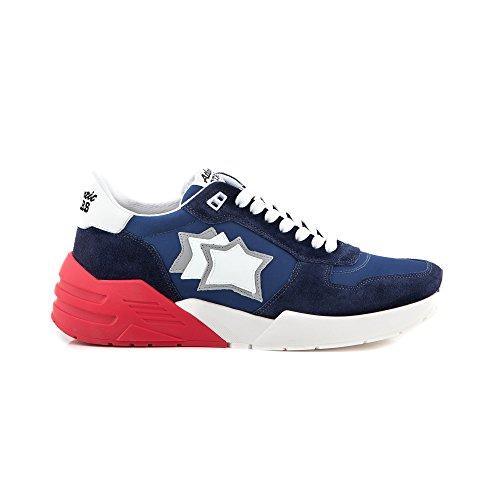 Atlantic Stars P-E 18 Sneakers Uomo Mars BM-SN01 Blue E7058 (45)