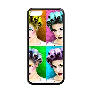 Black, 5C Case - Marina and the Diamonds Electra Heart Art Photo Design Durable Rubber Tpu Silicone Case Cover For Apple iPhone 5C