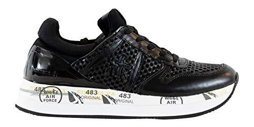 Italy Nere Premiata Liz Scarpe 3358 Made Sneakers Donna In qZZYT6X