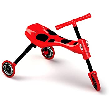 Amazon.com: Mookie Scramblebug Ride On, Red: Toys & Games