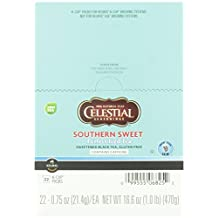Celestial Seasonings Southern Sweet Perfect Iced Tea, 22-Count