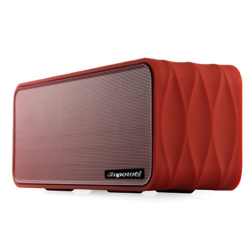 Simpowel V8 Portable Bluetooth Speaker with FM Radio, Micro