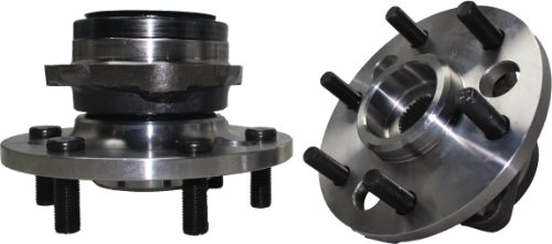 Gmc K1500 Axle Bearing - Brand New (Both) Front Wheel Hub and Bearing Assembly fits Blazer, K1500, K2500, Yukon 6 Lug (Pair) 515001 x 2