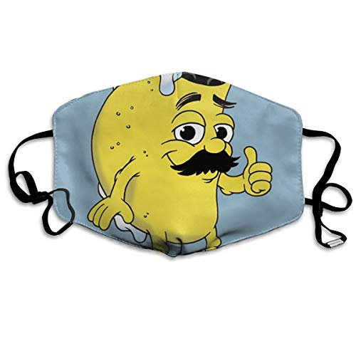 YUANSHAN Dust Mask Taco Dude Cartoon Outdoor Mouth Mask Anti Dust Mouth Mask Man Woman]()