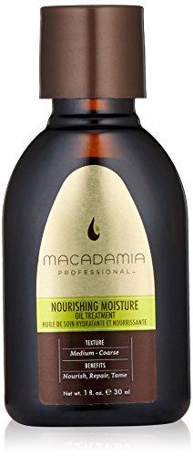 Macadamia Professional Nourishing Moisture Oil Treatment - .9oz. - Medium to Coarse Hair Textures - Nourishes & Tames - With Argan Oil - Sulfate, Gluten & Paraben Free, Safe for (Nourishing Color Treatment)