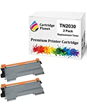 Cartridge Planet 2-Pack Compatible Toner Cartridge for Brother TN-2030 TN2030 (2,600 Pages) for Brother DCP7055 HL2130 HL2132 HL2135W
