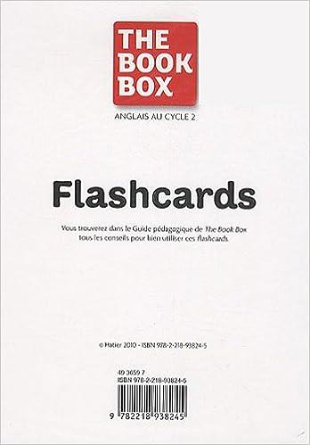 Livre The Book Box - 64 Flashcards CP/CE1 pdf, epub ebook
