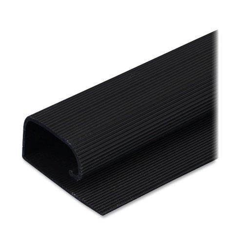 Cord Away 00205 1-1/2 Nonlocking J Channel, Black