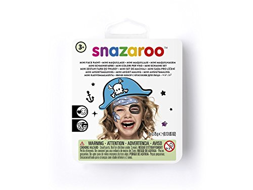 Snazaroo Blue Pirate Face Paint Theme Kit ()