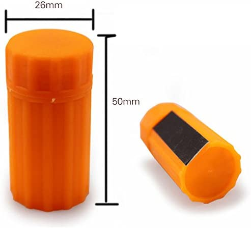 Stormproof Matches YiXUAN 1 Box of 20pcs Stormproof Match Kit with Waterproof Case