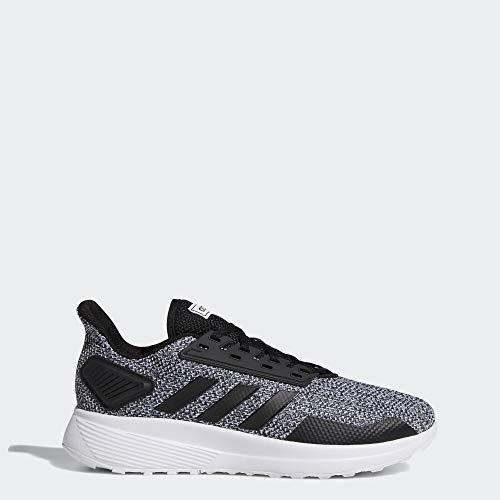 adidas Men's Duramo 9 Running Shoe, Core Black/Footwear White, 12 M US
