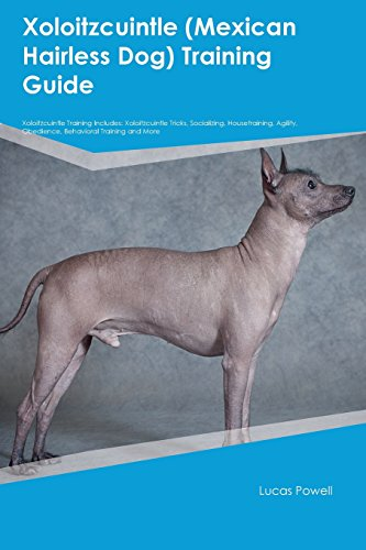 Xoloitzcuintle (Mexican Hairless Dog) Training Guide Xoloitzcuintle Training Includes: Xoloitzcuintle Tricks, Socializing, Housetraining, Agility, Obedience, Behavioral Training and More (Wolves And Dogs Behaviors And Pack Mentality)