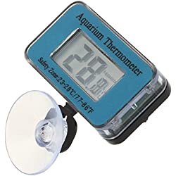 TOOGOO Aquarium/Fish Tank Water Submersible Waterproof Digital LCD Thermometer