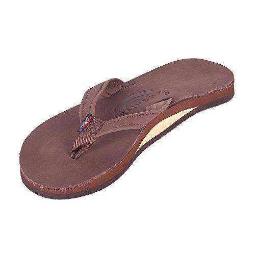 Rainbow Womens The Catalina Single Layer Premier Leather Sandal (6) 4MHzlf