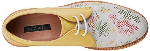 geo De Fantasy Mujer Para albilla Neosens Cordones Geo Blanco Zapatos White Oxford White S924 a7pwSq