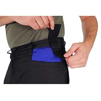 negro y azul real 31//30 Pantalones de trabajo para hombre 1 con bolsillos y bolsillos Goodyear Workwear GYPNT010