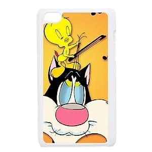 Tweety Bird iPod Touch 4 Case White Exquisite gift (SA_450839)