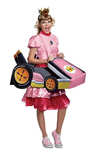 Disguise Womens Peach Kart Adult Costume